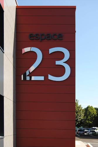 présentation espace 23 saint-avertin location salles