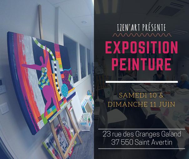 espace-23-les-salons-galand-st-avertin-exposition-peinture-izen-art-isabelle-quere