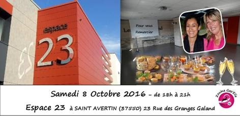 evenement invitation soiree espace 23 saint avertin